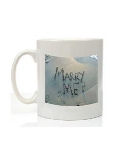 "Mug saint valentin ""marry me?"""