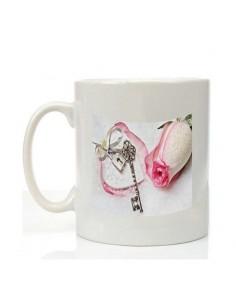 """Mug """"cadenas"""" saint Valentin"""