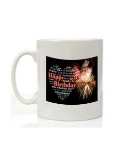 Mug happy birthday feu...