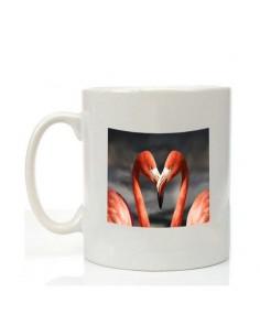 Mug saint Valentin flamant...