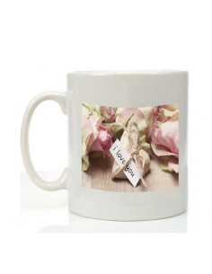 "Mug ""i love you"" personnalisé"