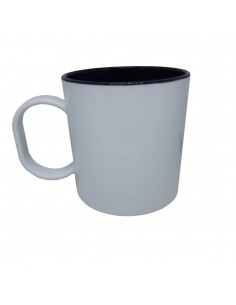 Mug bicolore noir incassable