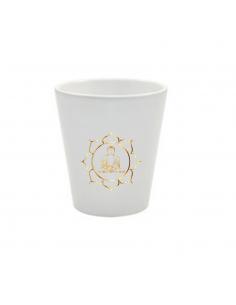Pot Bouddha fleur de lotus or