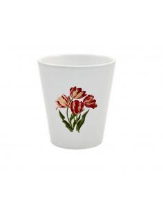 Pot tulipes rouges