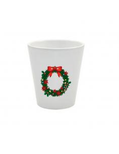 Pot couronne de Noël