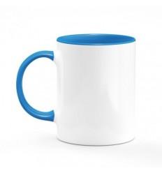 Mug Bleu Clair Personnalisé