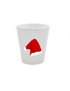 Pot du bonnet du père Noël
